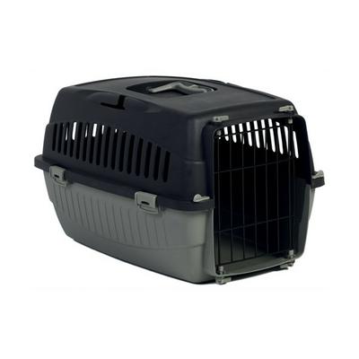 Cage Transporteur Messager Une Porte Noir