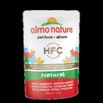 HFC Natural Filet de poulet et crevettes