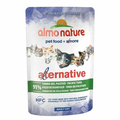 Almo Nature - HFC Alternative -  Thon du Pacifique - Sachet de 55g