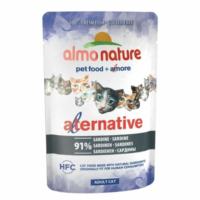 Almo Nature - HFC Alternative - Sardines - Sachet de 55g