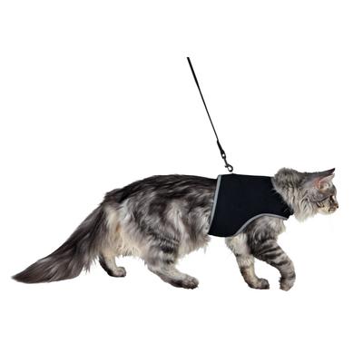 Harnais soft avec laisse pour chats