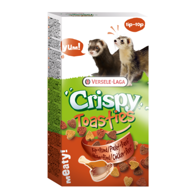 Crispy - Toasties Poulet & Boeuf