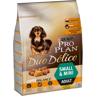 Purina Pro Plan - Duo Delice - Small & Mini - Boeuf - 2,5 kg