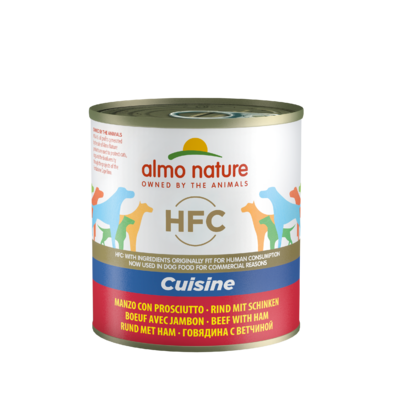 Almo Nature - HFC Cuisine - Boeuf et Jambon 290g