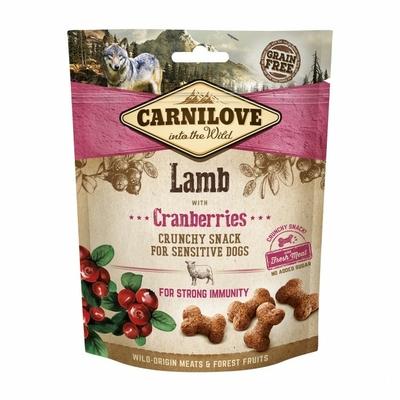 Carnilove Crunchy - Snack Agneau et Cranberries
