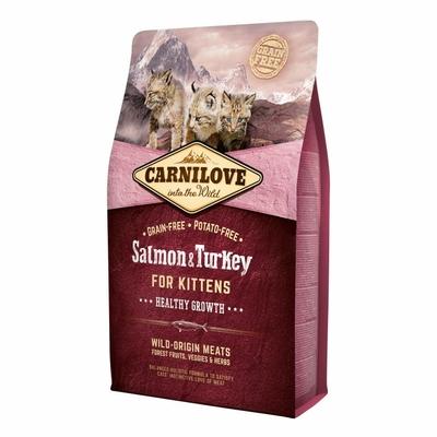 Carnilove Chaton - Saumon et Dinde