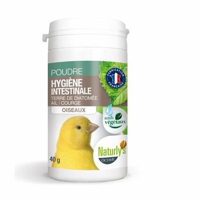 Naturly's Poudre hygiène intestinale Oiseaux