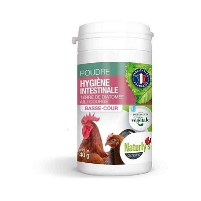 Naturly's - Poudre Hygiène Intestinale pour Basse-cour