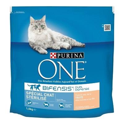 Purina One -  Chat Stérilisé truite - 1,5kg