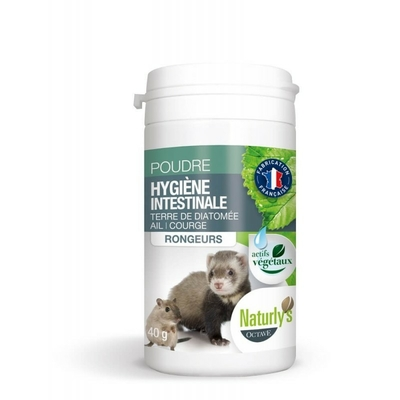 Naturly's hygiène intestinale Rongeurs