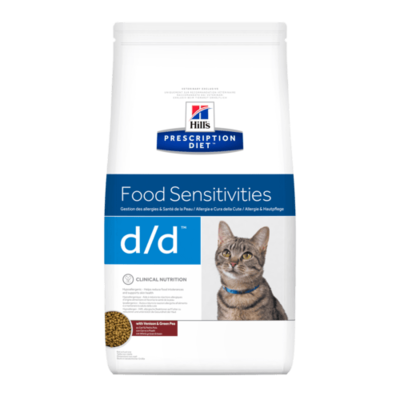 HILL'S Prescription Diet Féline d/d - Canard 1,5kg