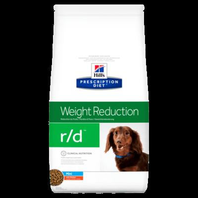 HILL'S Prescription Diet Canine r/d Mini Poulet 1,5kg