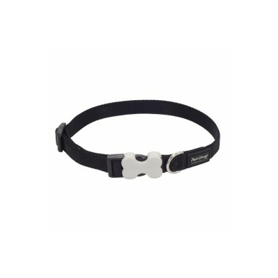 Collier réglable Red Dingo Basic noir