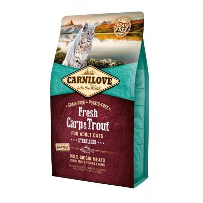 CARNILOVE Adult  Stérilisé - Carpe & Truite