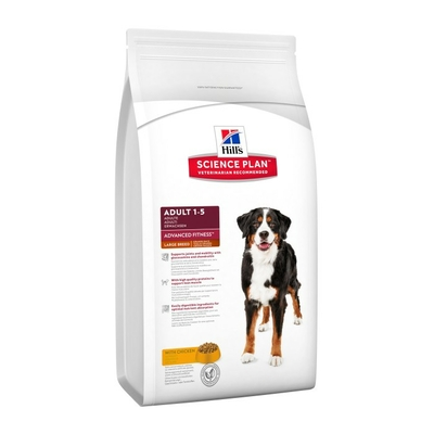 Hill's Science Plan Canine Adult  - Large Breed - Advanced Fitness - Poulet - 18kg