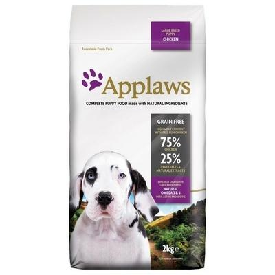 APPLAWS Puppy Sans Céréales pour Chiot - Large Breed Poulet
