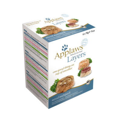Applaws Layer Multipack 3 saveurs - 6 Pots 70g