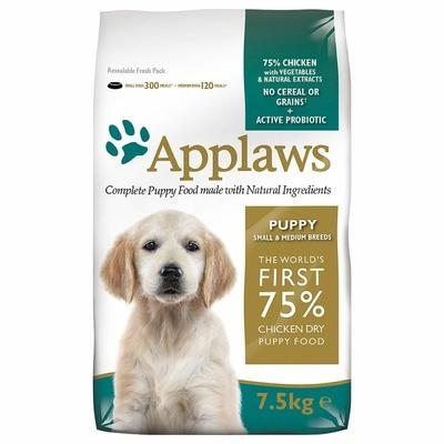 APPLAWS Puppy Sans Céréales pour Chiot de Petite et Moyenne Taille