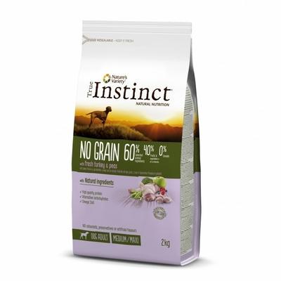 True Instinct No Grain Medium Maxi Adult - Dinde