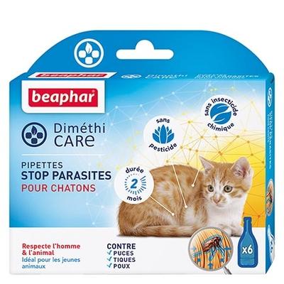 Diméthi Care - Pipettes stop parasites pour chatons