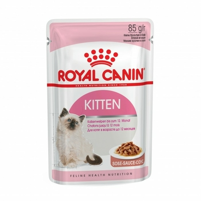Royal Canin Kitten en sauce - Lot 12 x 85g