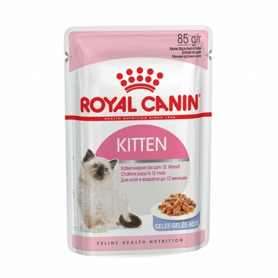 Royal Canin Kitten  en gelée - Lot 12 x 85g
