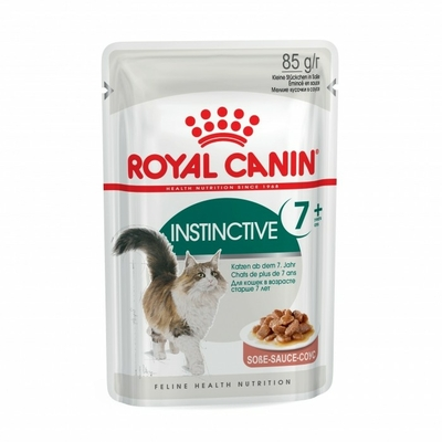 Royal Canin Instinctive 7+  en sauce - Lot 12 x 85g