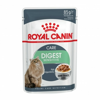 Royal Canin Digest Sensitive en sauce - Lot 12 x 85g