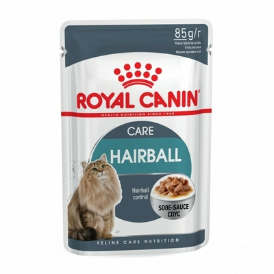Royal Canin Hairball Care en sauce - Lot 12 x 85g