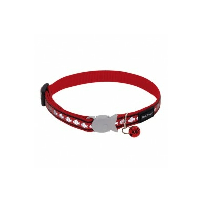 Collier Red Dingo Reflective rouge