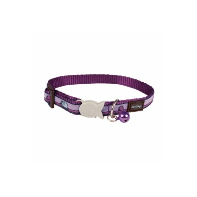 Collier Red Dingo Chats Fantaisie violet souris