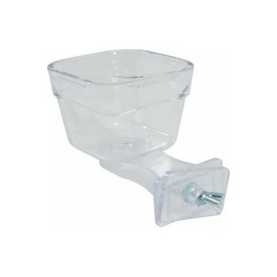 Zolux-Mangeoire perroquet transparent