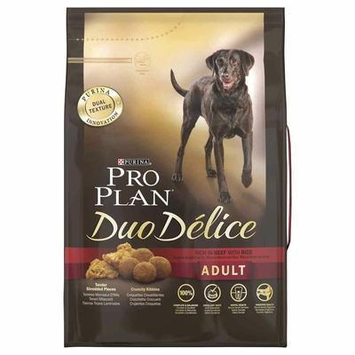 Purina Pro Plan - Duo Delice - Adult - Boeuf - 2,5 kg