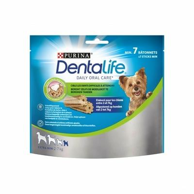 Purina Dentalife - Pour chien de très petite taille - 7 batonnets
