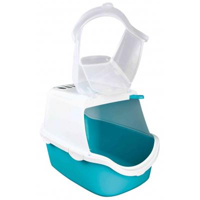 Bac à litière Vico Open Top, avec couvercle Turquoise