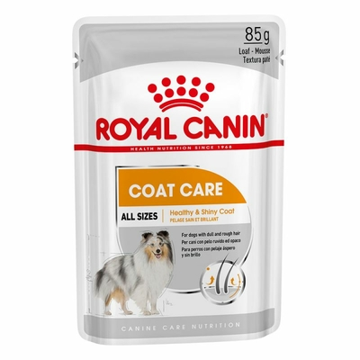 Royal Canin Coat Care en mousse - Lot 12 x 85g