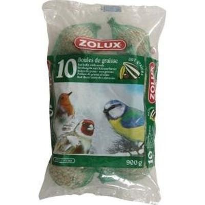 Zolux-10 Boules de graisse de 90gr
