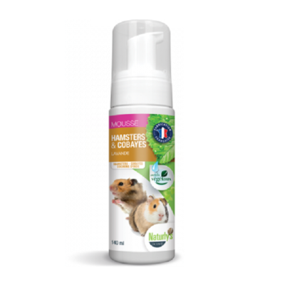 Naturly's - Shampooing Mousse Hamsters & Cobayes