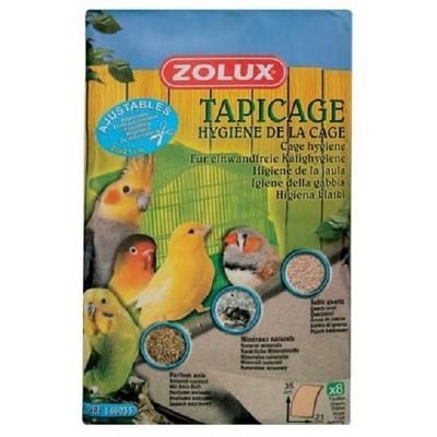 Zolux-Feuilles sablèes pour fond de cage