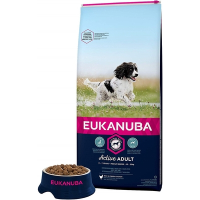 Eukanuba - Croquettes Premium - Adult Moyennes Races