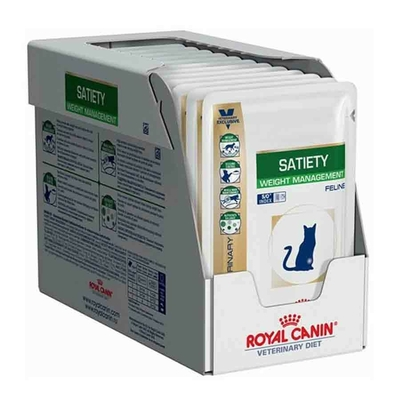 Royal Canin Veterinary  Cat Satiety Support - 12 x 85 g