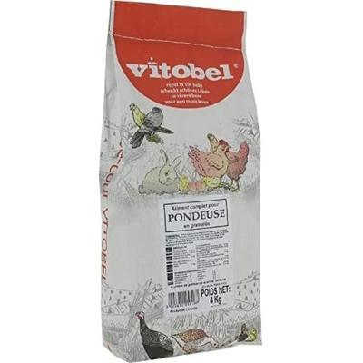 Vitakraft Vitobel - Aliment pour poules pondeuses - 4kg