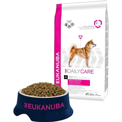 Eukanuba Daily Care - Croquettes pour Chien Adult  Digestion Sensible