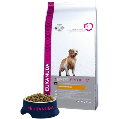 Eukanuba - Croquettes Breed Specific - Chien Adult  Golden Retriver - 12kg