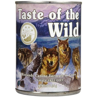 Taste of the Wild - Wetlands Canine - Boite 390gr