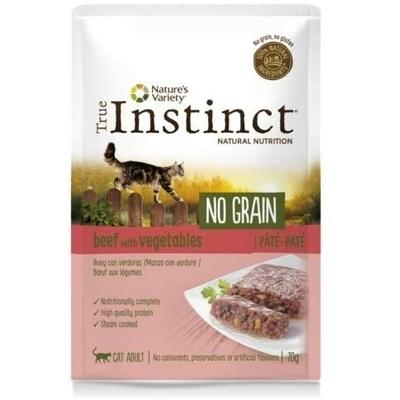 Sachet True Instinct pour Chat - No Grain Boeuf