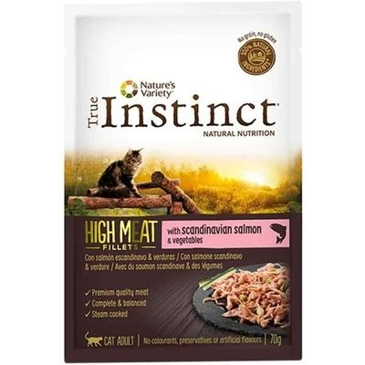 Sachet True Instinct Chat - High Meat Saumon
