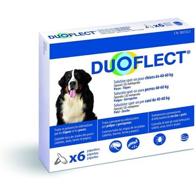 Duoflect - 6 Pipettes Antiparasitaire pour chien de 40 … 60Kg