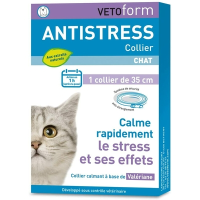 VETOFORM Collier Anti-Stress pour Chat