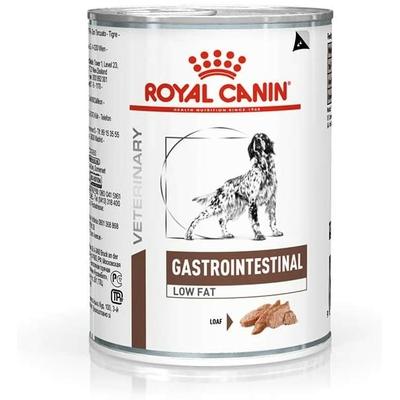Royal Canin Veterinary diet - Gastro intestinal low fat - Boite de 410g